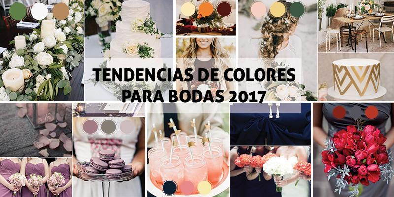 Tendencias de colores bodas en 2017 mipa fashion for Tendencias de bodas 2017