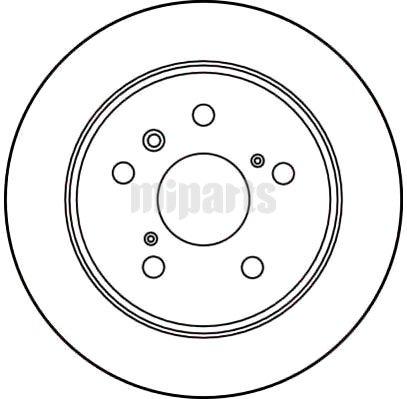 HOLDEN Brake Disc DF2661,4243133060,4243133010,4243133040