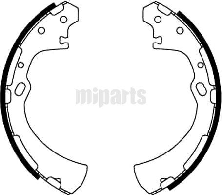 Nissan Brake Shoe Set GS8512,069022810,4406005N25