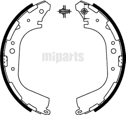 ZHENGZHOU Brake Shoe Set 440600W727,440600W725,440600W726