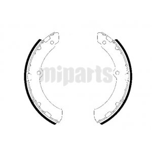 Toyota Brake Shoe Set GS7330,0449436180,0449436190