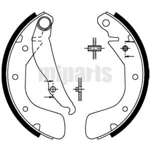 Chevrolet Brake Shoe Set GS8543,9196292,91158366,91149506
