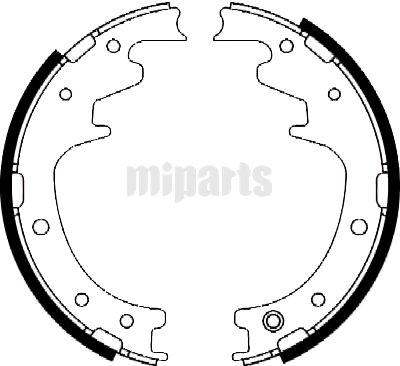 Mitsubishi Brake Shoe Set FN6637,MZ981134,MB268385