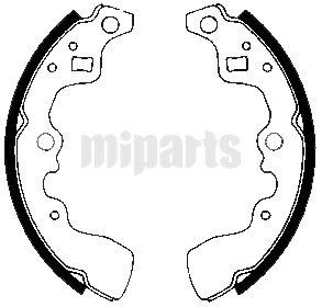 Suzuki Brake Shoe Set 5321082031,5321082030,5320086810