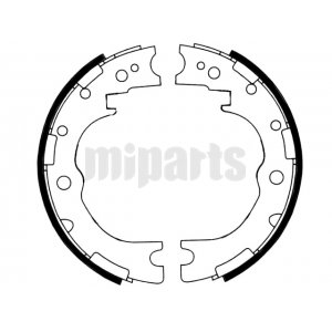 Toyota Brake Shoe Set, parking brake FN0015,4653025020