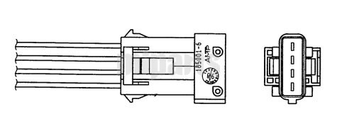 Fiat Oxygen Lambda Sensor O2 1628 HN,96 229 975,96 35 978