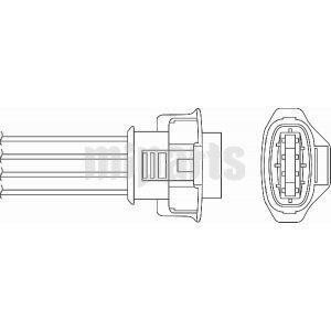 Vauxhall Oxygen Lambda Sensor O2 0855366,0855390