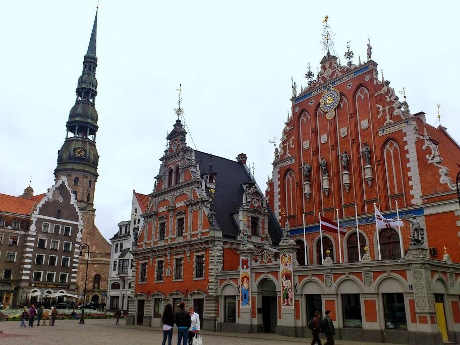 Un día en Riga visitando su casco histórico
