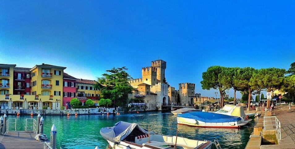 Descanso en Sirmione en el Lago de Garda