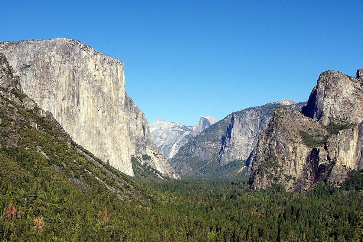 Valle de Yosemite, el increíble paraje natural de California