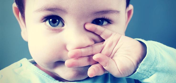 Mocos claros en niños y bebés