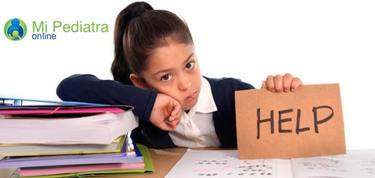 Niño hiperactivo y con deficit de atención TDAH