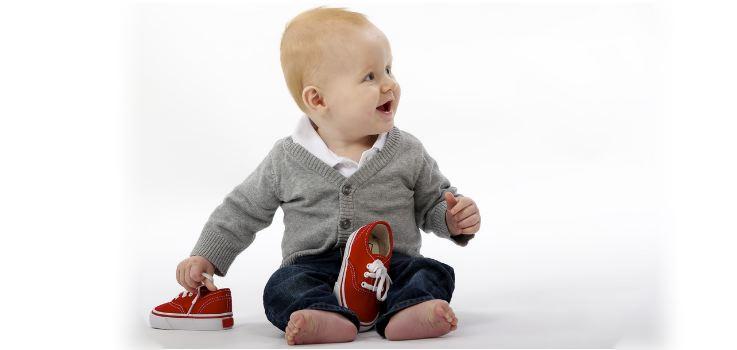 ¿A qué edad se puede sentar un bebé?