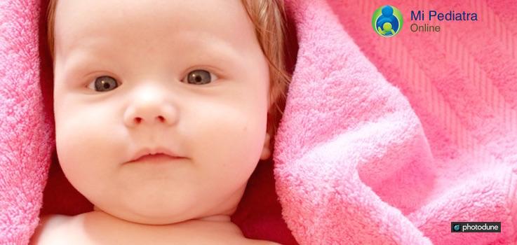 Crema hidratante en niños y bebés
