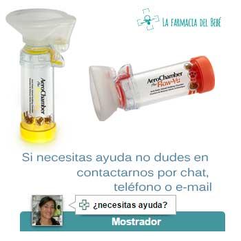 La farmacia del bebé, inhaladores para niños y bebés.
