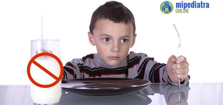 ¿Porqué algunos niños Rechazan la Leche?