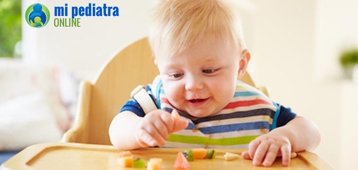 Sabes por qué algunos bebés rechazan la fruta de repente cuando antes la tomaban bien?