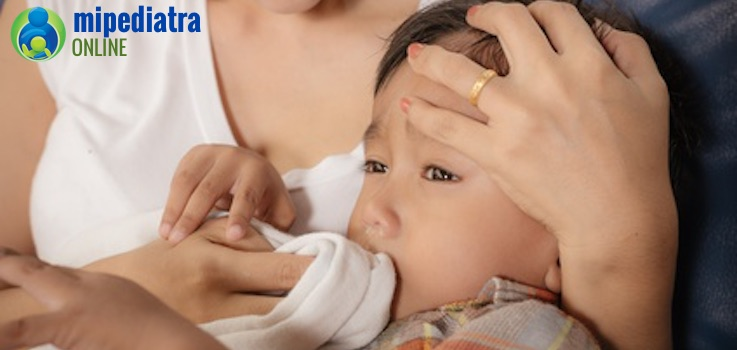 Qué hacer si mi bebé vomita