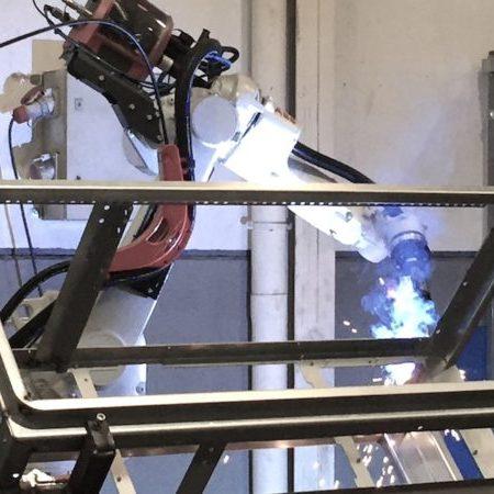 Empresa de soldadura robotizada