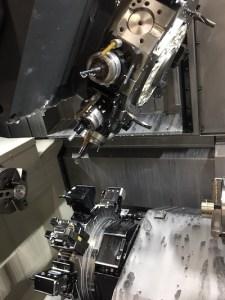 mecanizado de piezas mediante multitarea