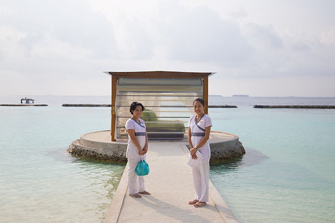 Maldive resort