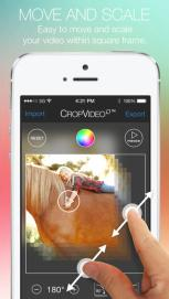 Crop Video Square FREE app moviles