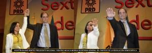 agustin basave y beatriz mujica presidente y srio gral prd 7 nov 2015