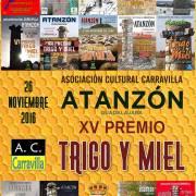 XV PREMIO TRIGO Y MIEL Atanzón