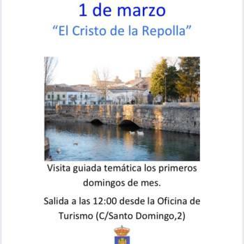 VISITA GUIADA TEMÁTICA A » EL CRISTO DE LA REPOLLA «
