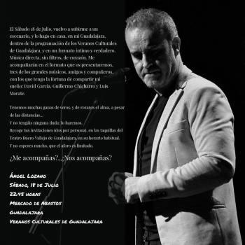 Ángel Lozano Mercado de Abastos Guadalajara