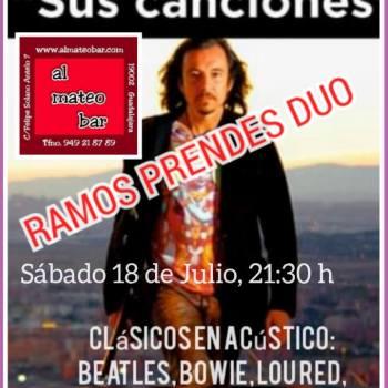 Actuación en directo Ramón Prendes Dúo