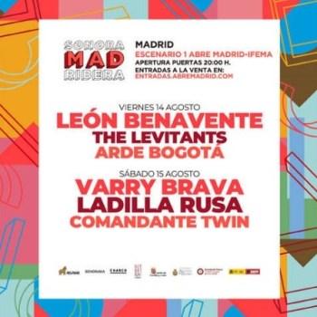 SONORAMAMAD ABONO PROMO – 14 y 15 Agosto – Abre Madrid!