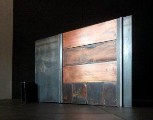 ETUDE METALLIQUE ACIER ET CUIVRE 2016 - Artiste Plasticienne Noiseau & Val de Marne 94