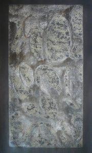 R 5 eau forte, monotype, 66-112 cm, 2016 - Artiste Plasticienne Noiseau & Val de Marne 94