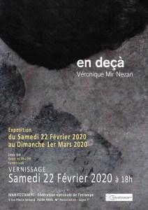 affiche-vnezan-3-janv - Artiste Plasticienne Noiseau & Val de Marne 94