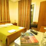 double room with double bed mirabello hotel heraklion crete
