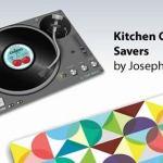 Joseph Joseph Glass Worktop Saver