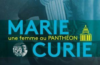 Affiche Marie Curie, une femme au Panthéon
