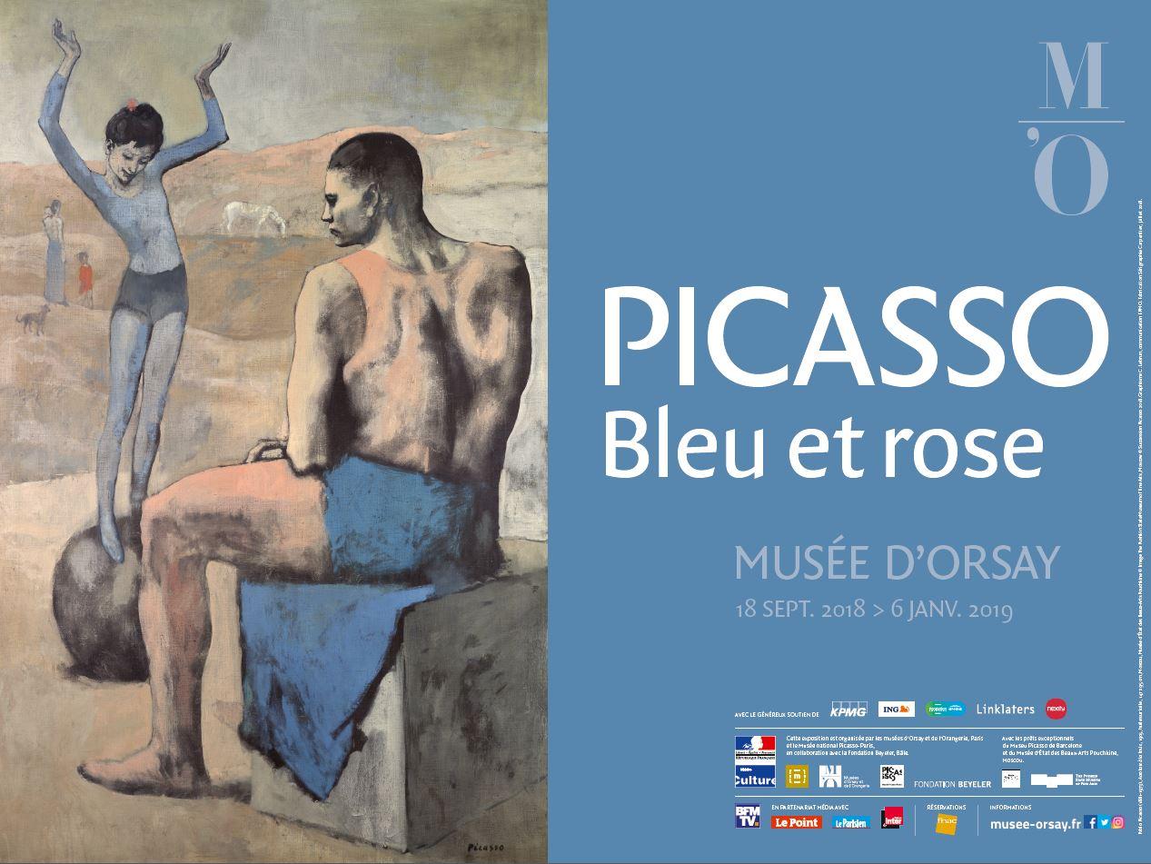 Extraordinaire Picasso bleu et rose