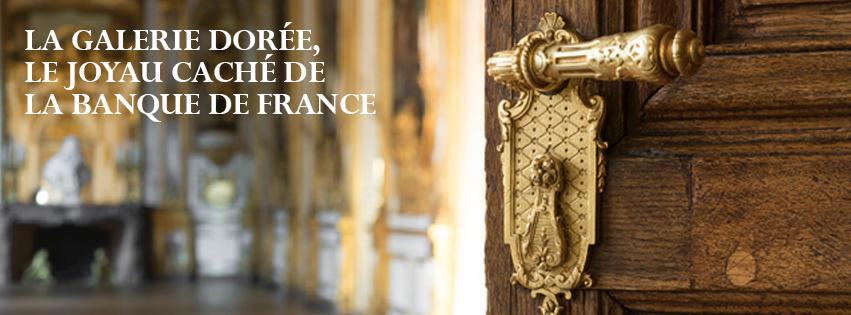 La Galerie Dorée,  joyau caché de la Banque de France.