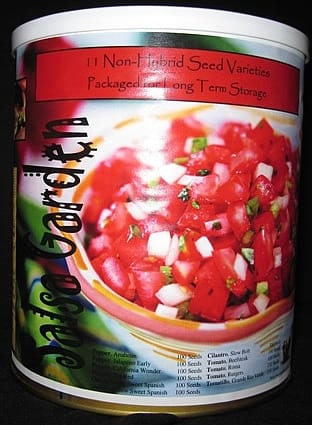 Salsa Seed Can