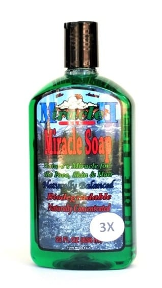 3X Miracle II Soap 22 oz