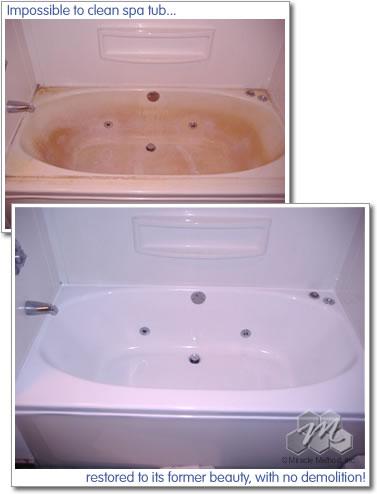 Acrylic Bathtub Refinishing  Miracle Method
