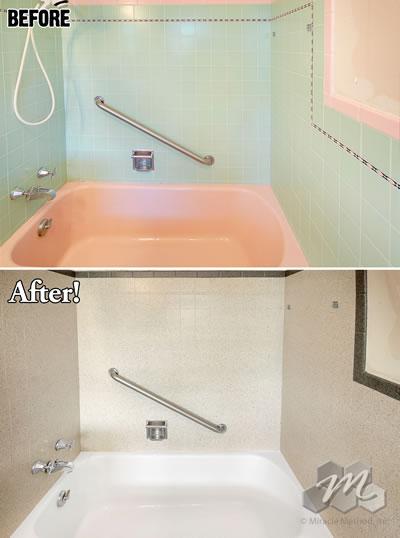 Bathtub Refinishing Cost  Miracle Method
