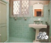 Ceramic tile reglazing by Miracle Method