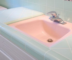 porcelain sink refinishing sink repair