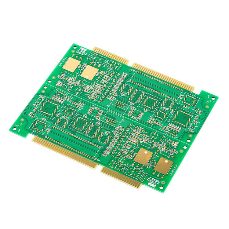 China Professional Custom 2 Layer Immersion Golden Fingers PCB-01