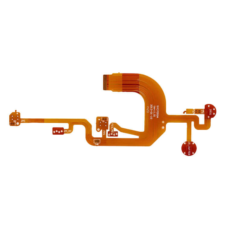 FPC Board Polyimide Material Flexible PCB Manufacturing-02