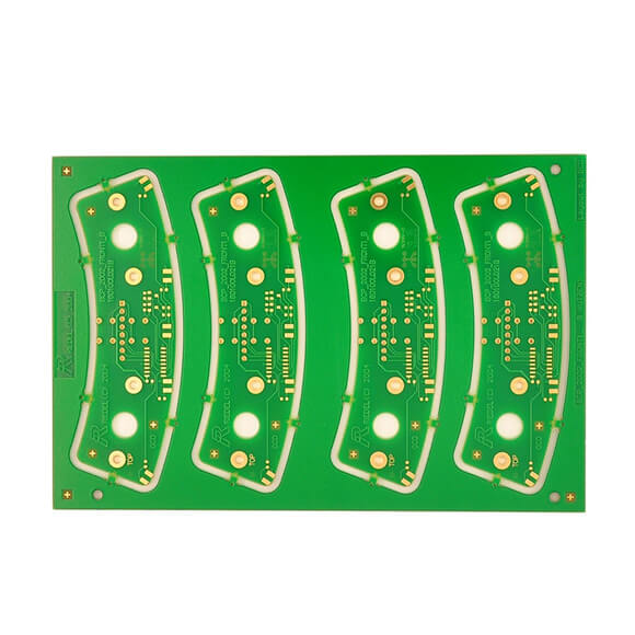 OEM Single Layer PCB with Green Solder Mask Factory-02