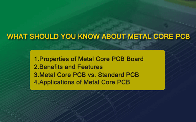 Why does mcpcb manufacturer recommend metal core pcb?
